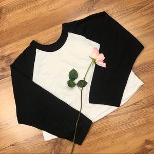 American Apparel The 50/50 Shirt Crop Top Size M/L